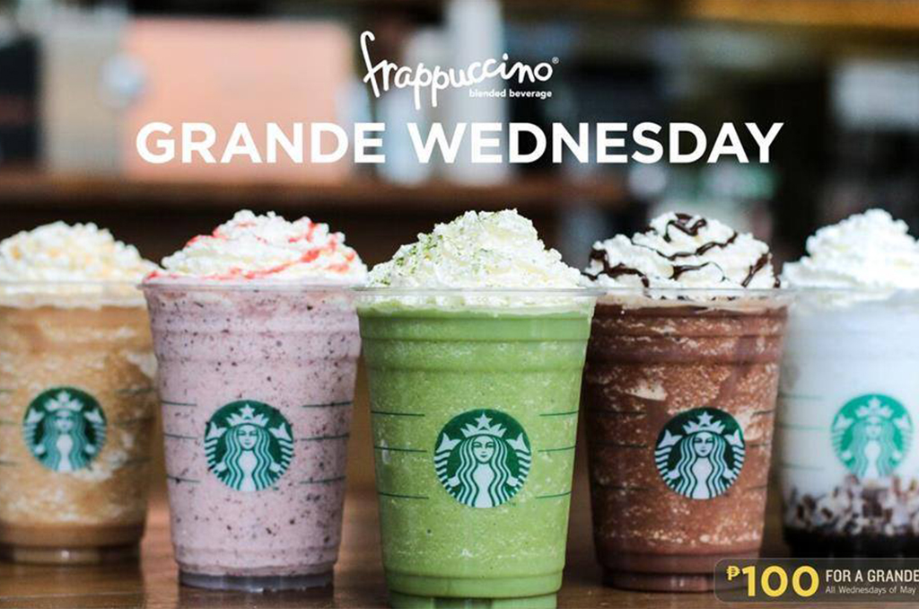 Enjoy Starbucks' Exclusive Flavors for PHP 100