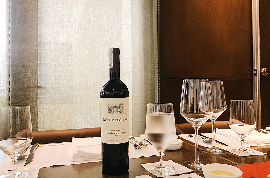 The Best Wine of Chile Has Arrived in The Philippines: The Don Melchor 2015 Cabernet Sauvignon