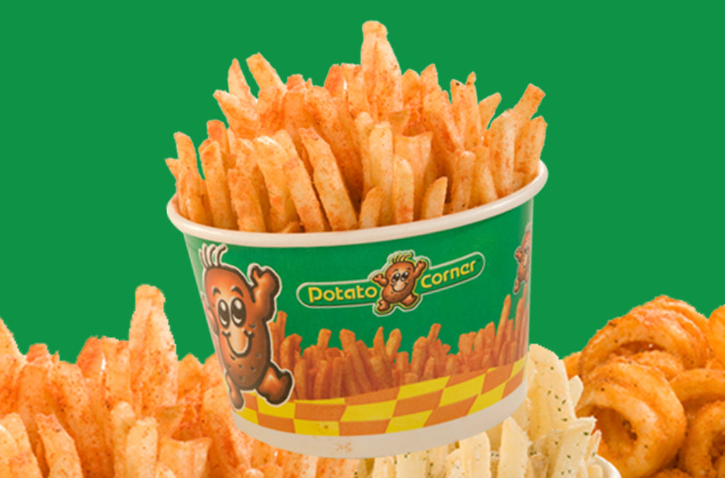 Score Free Large Fries at Potato Corner on National Fries Day