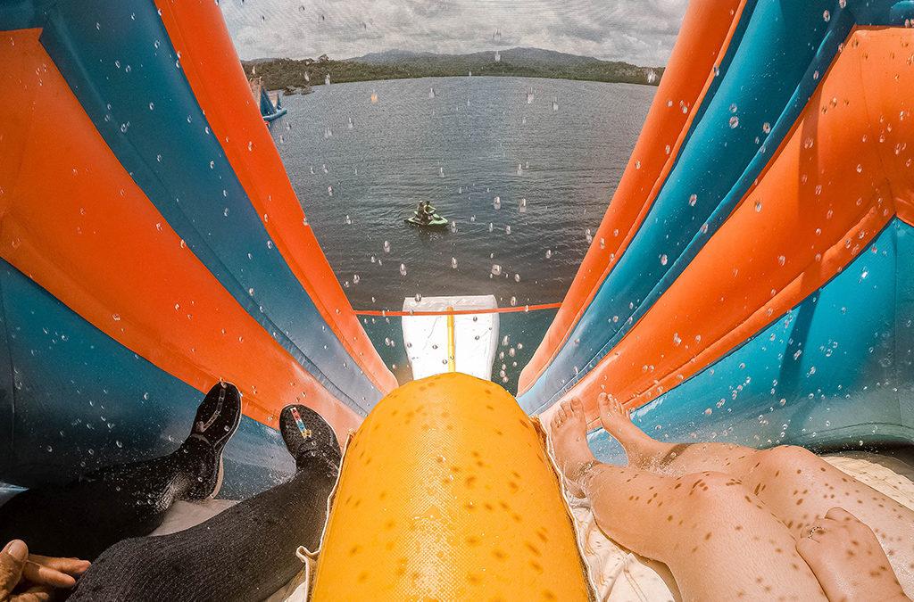 Have a Blast at Asia's Biggest Water Slide at Kamia Bay Resort!