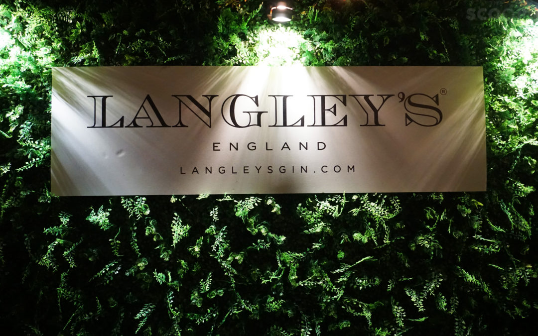 Gin as it should be: Langley's England finally arrives in the Philippines!