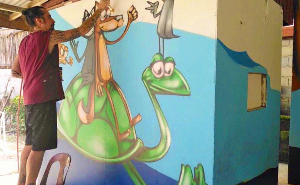 Marine Life Stories Unfold Through Art At Port Barton