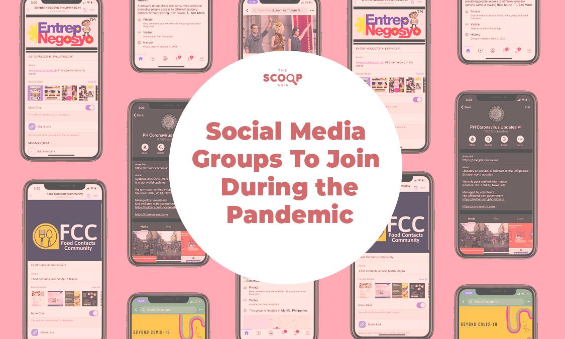 Digital Heroes: Facebook, Telegram, and Viber Groups Making Quarantine Bearable