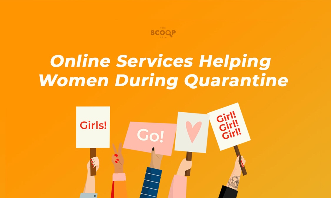 Online Services Helping Women During Quarantine