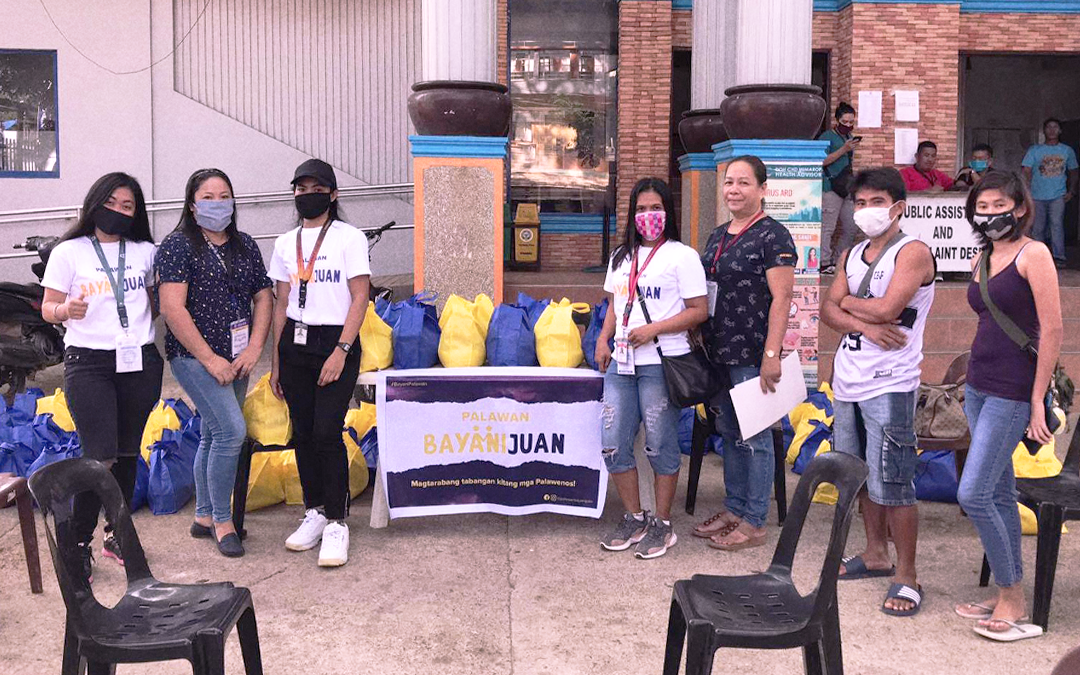 "Palawan BayaniJuan: The Fundraising Initiative For Palawan's ""Tourism Frontliners"""