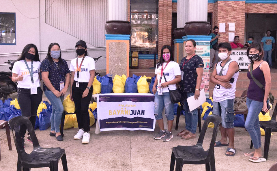 "Palawan BayaniJuan: The Fundraising Initiative For Palawan's ""Tourism Frontliners"""