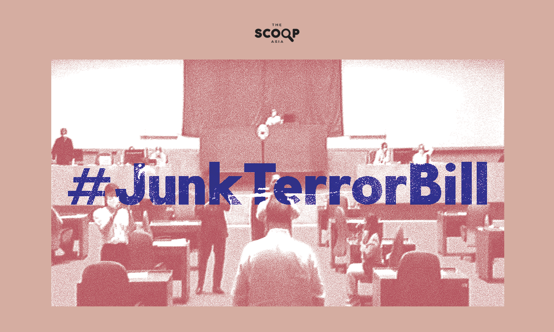 Supporting #JunkTerrorBill Can Come in Different Ways