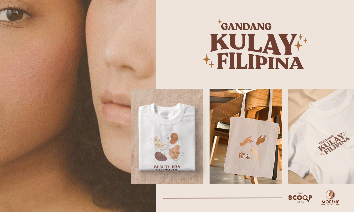 Wear Your Natural Filipina Beauty: Morena the Label x The Scoop Asia Exclusive and Limited Edition Merchandise